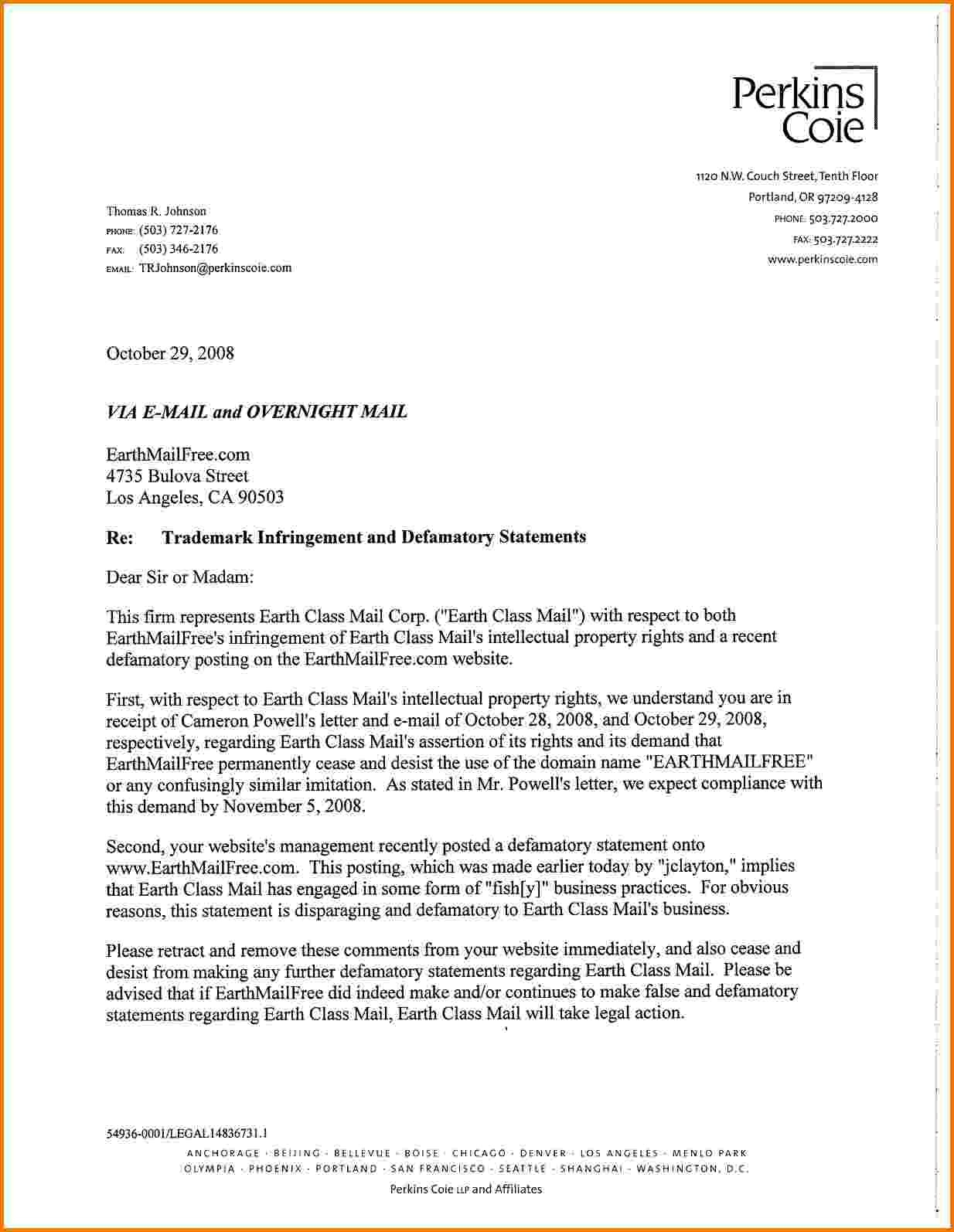 10+ Formal Legal Letter Template   Financial Statement Form pertaining to Formal Legal Letter Format 23356