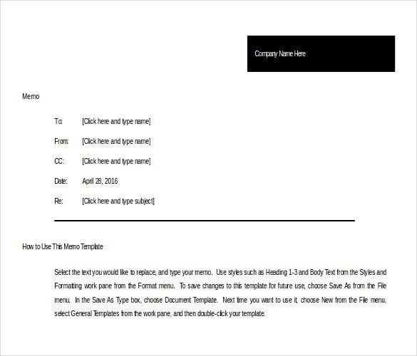 10+ Memo Templates Microsoft Word 2010 Free Download | Free throughout Memo Format Word 22394