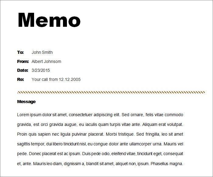 12+ Memo Templates - Free Sample, Example, Format | Free & Premium with Standard Memo Format Example 22434