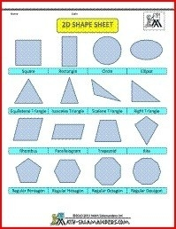 120 Best Geometric Images On Pinterest | Art Illustrations, Art inside 2D Geometric Shapes Chart 19321