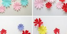 3D Flower Stickers