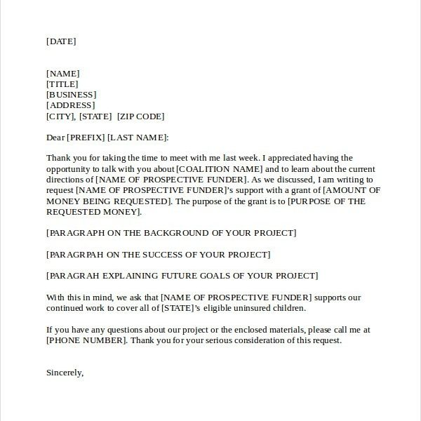 21 business proposal letter examples regarding business proposal cover letter format