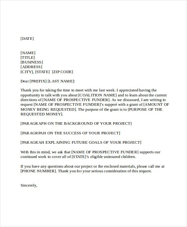 21+ Business Proposal Letter Examples regarding Business Proposal Cover Letter Format 22384