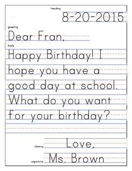 32 Best Writing – Friendy Letter Images On Pinterest | Letter with Friendly Letter Format First Grade 20911