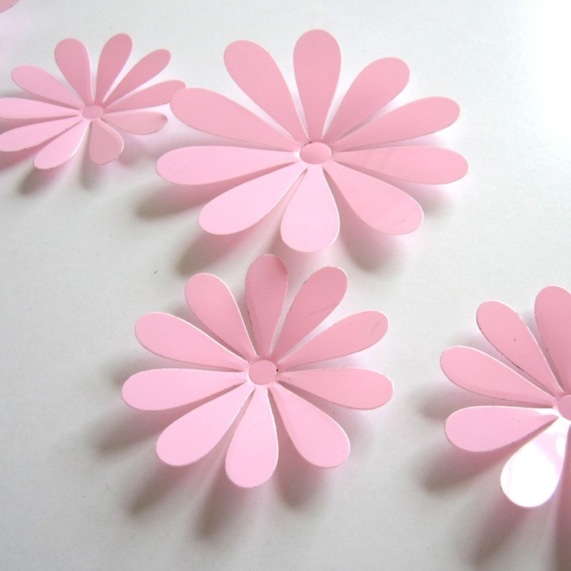 3D Flower Set Pink – Wall Stickers Co with regard to 3D Flower Stickers 19362