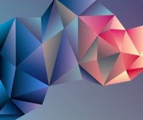 3D Geometric Shape Art Background Vectors Set 03 | Fractals! Where with Geometric Shapes Art 3D 24593