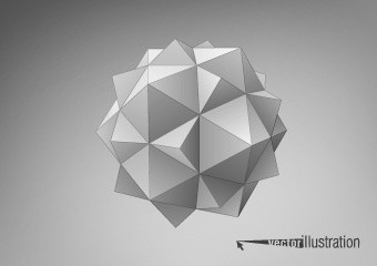 3D Geometric Shapes Free Vector Download (11,641 Free Vector) For pertaining to Geometric Shapes Art 3D 24593