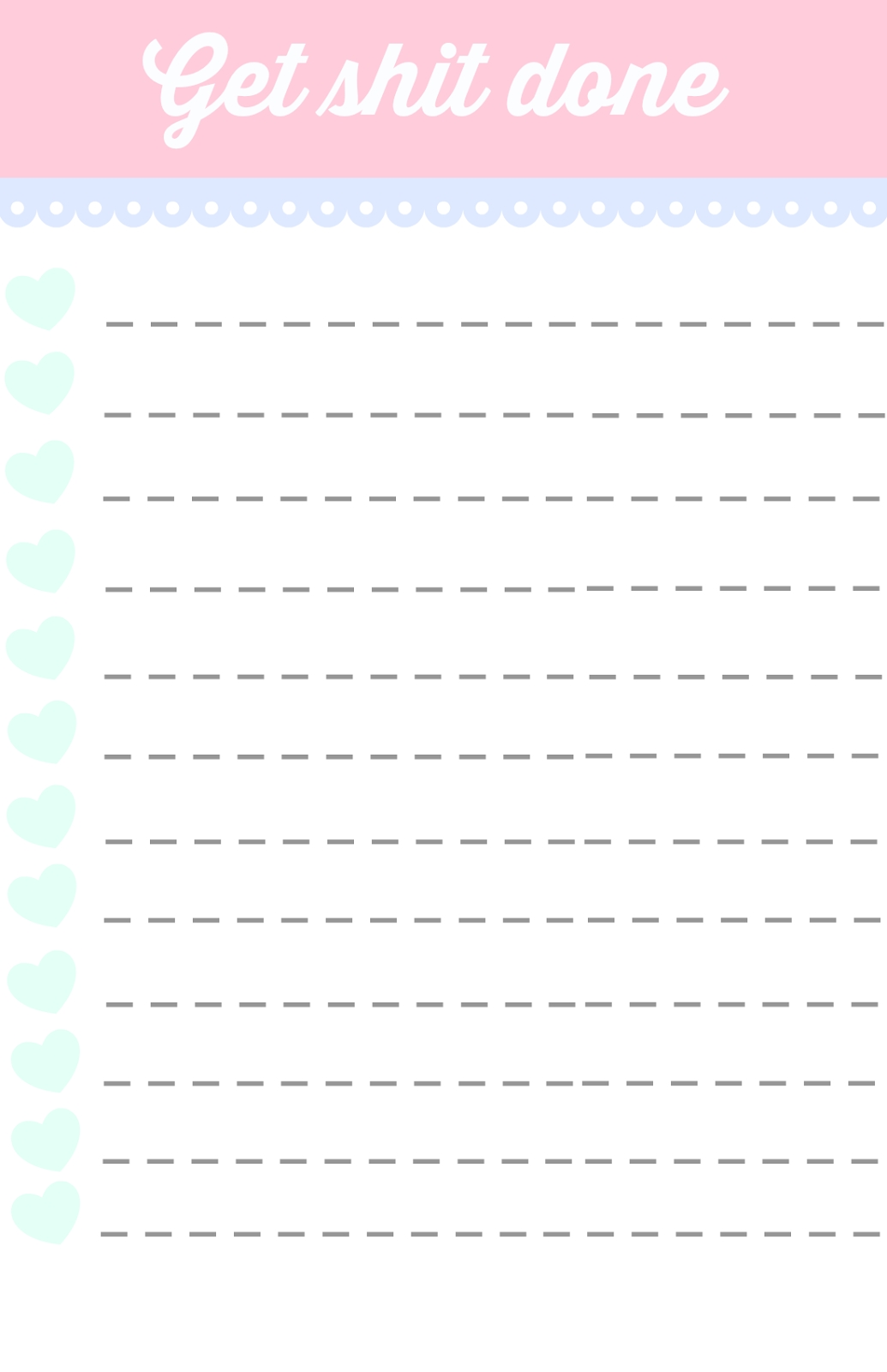 40 Printable To Do List Templates | Kitty Baby Love pertaining to Cute To Do List 20228