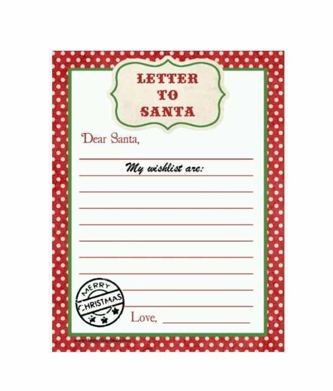 43 Printable Christmas Wish List Templates & Ideas - Template Archive regarding Printable Christmas List 22214