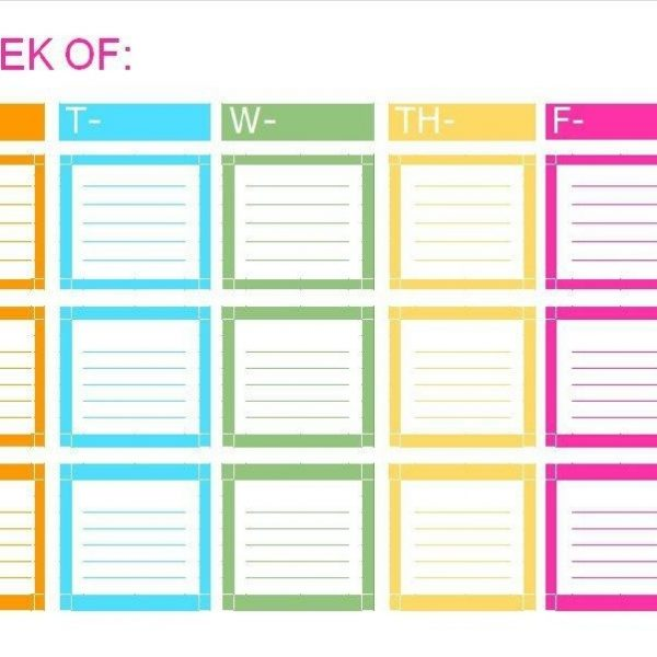 Printable To Do List  Checklist Templates Excel  Word With