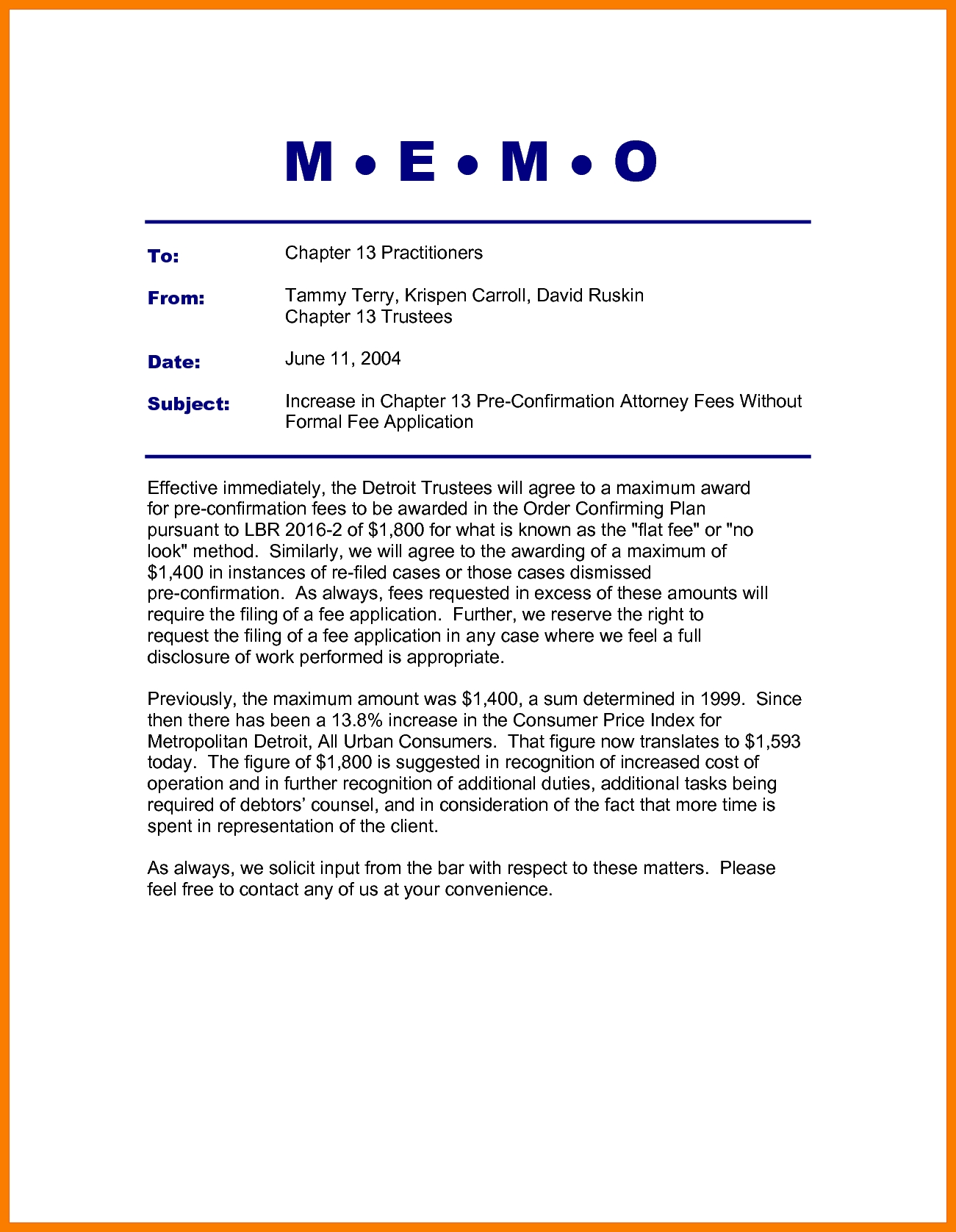 9+ Memo Format With Headings | Park-Attendant regarding Memo Format Headings 22554