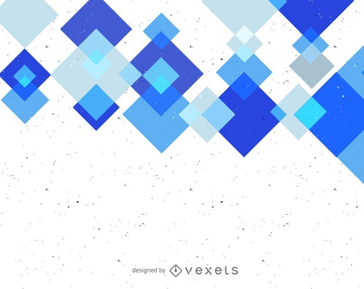 Abstract Background With Blue Geometric Shapes - Vector Download regarding Geometric Shapes Design Blue