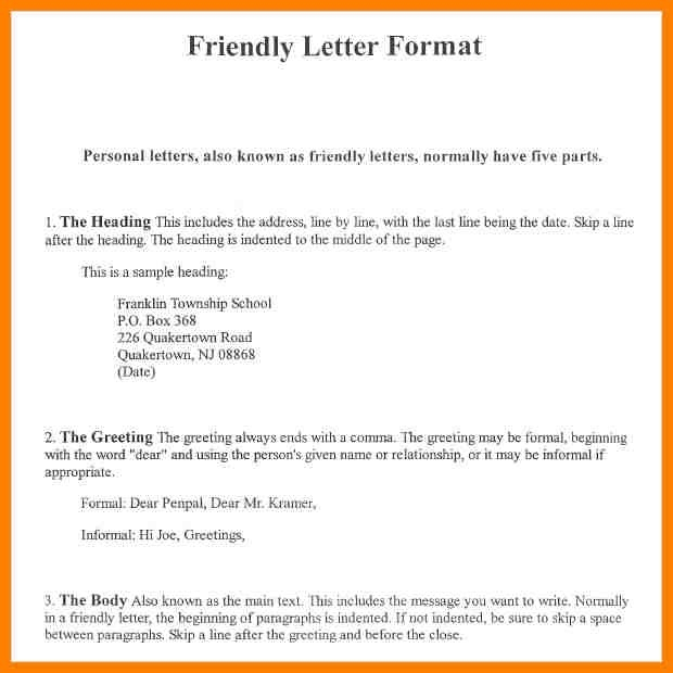 amazing formal letter format sample pdf also 13 pdf informal pertaining to informal letter format for