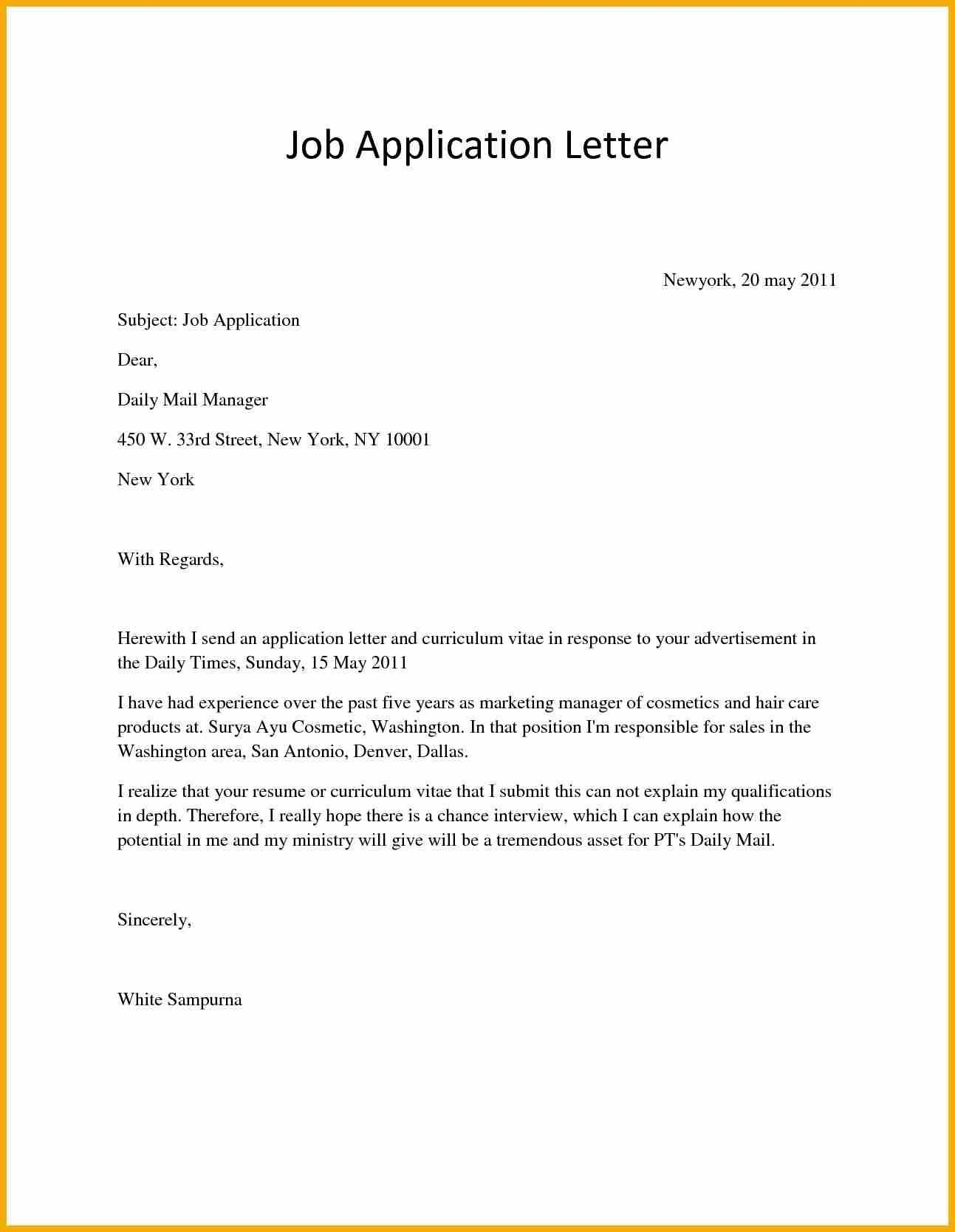 Application Letter For Job Vacancy Bursary Cover Example Any in Application Letter For Job Vacancy Format 23256