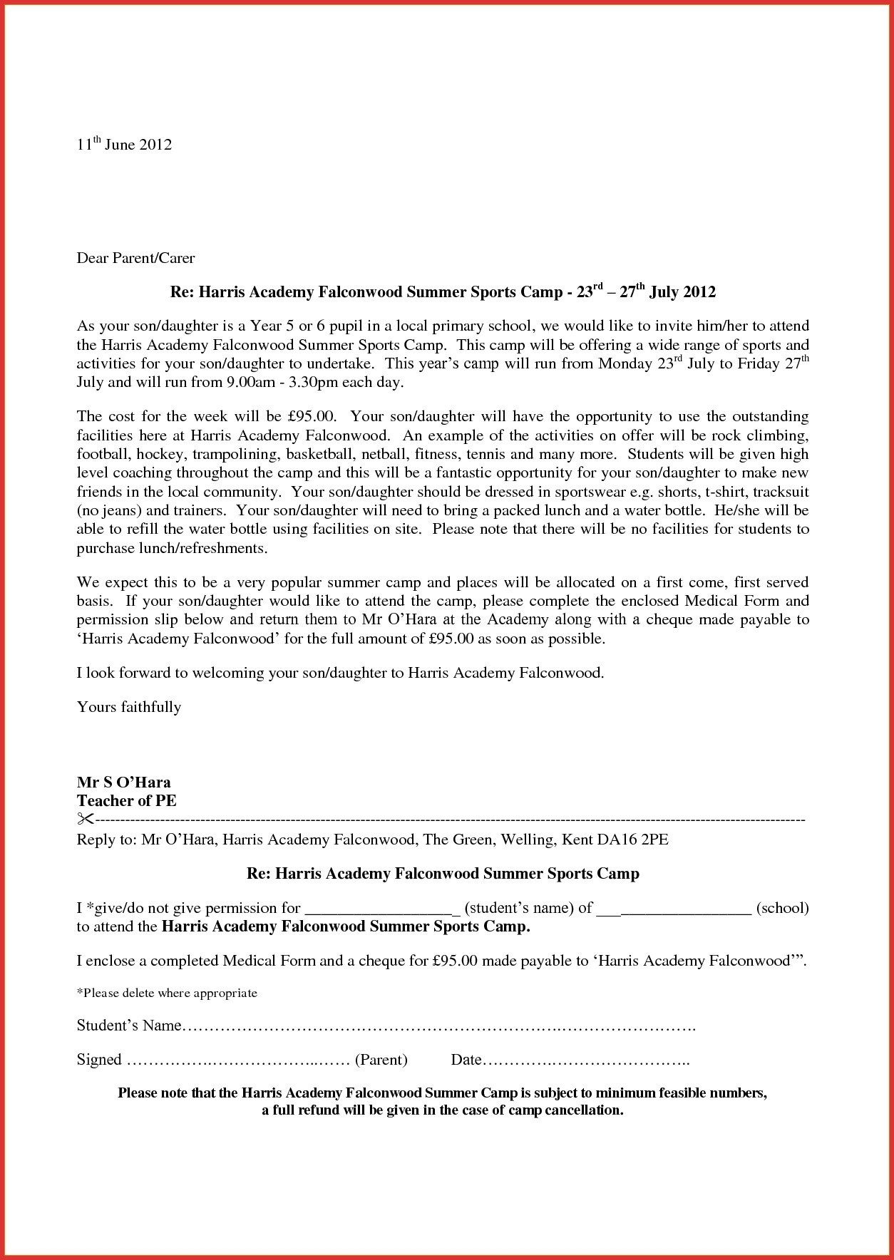 Application Letter Format For School Admission | World Of Example pertaining to Application Letter Format For School Admission 23236