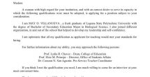 Application Letter Sample For Fresh Graduate Information Technology