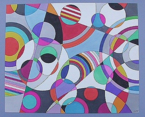 Arts And Crafts Blog: Geometric Shapes In Art For Famous Geometric for Geometric Shape Art 24089