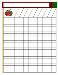 Blank Class List Template | Finally, A Cute Lesson Plan Template inside Blank List Sheet 19211