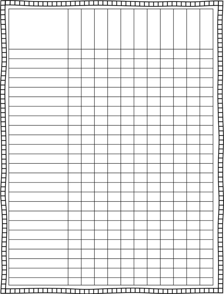 Blank Weekly Checklist Template | World Of Example regarding Blank Weekly Checklist 19301