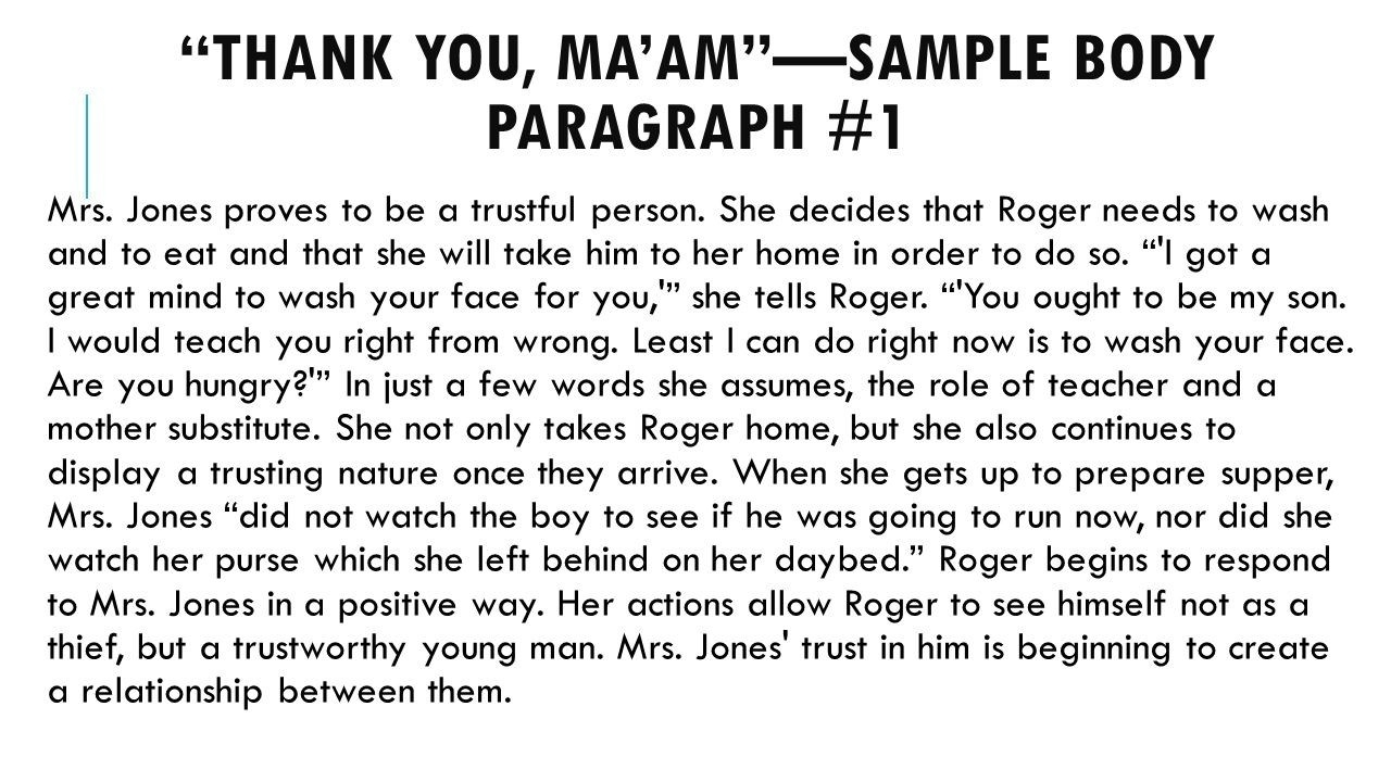 Body Paragraph 1 Example | World Of Example throughout Body Paragraph Example 18821