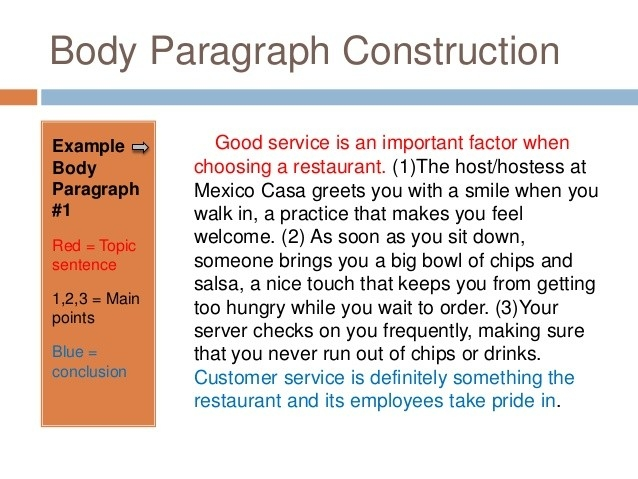 Body Paragraph Examples in 3 Body Paragraph Examples 18712