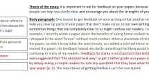 Body Paragraph Examples