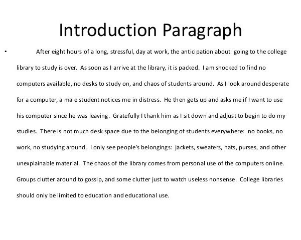 introduction paragraph essay example