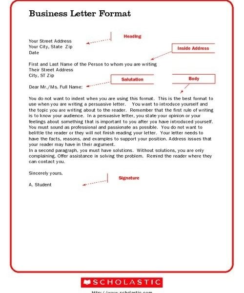 business letter format for kids letters within business letter format for kids