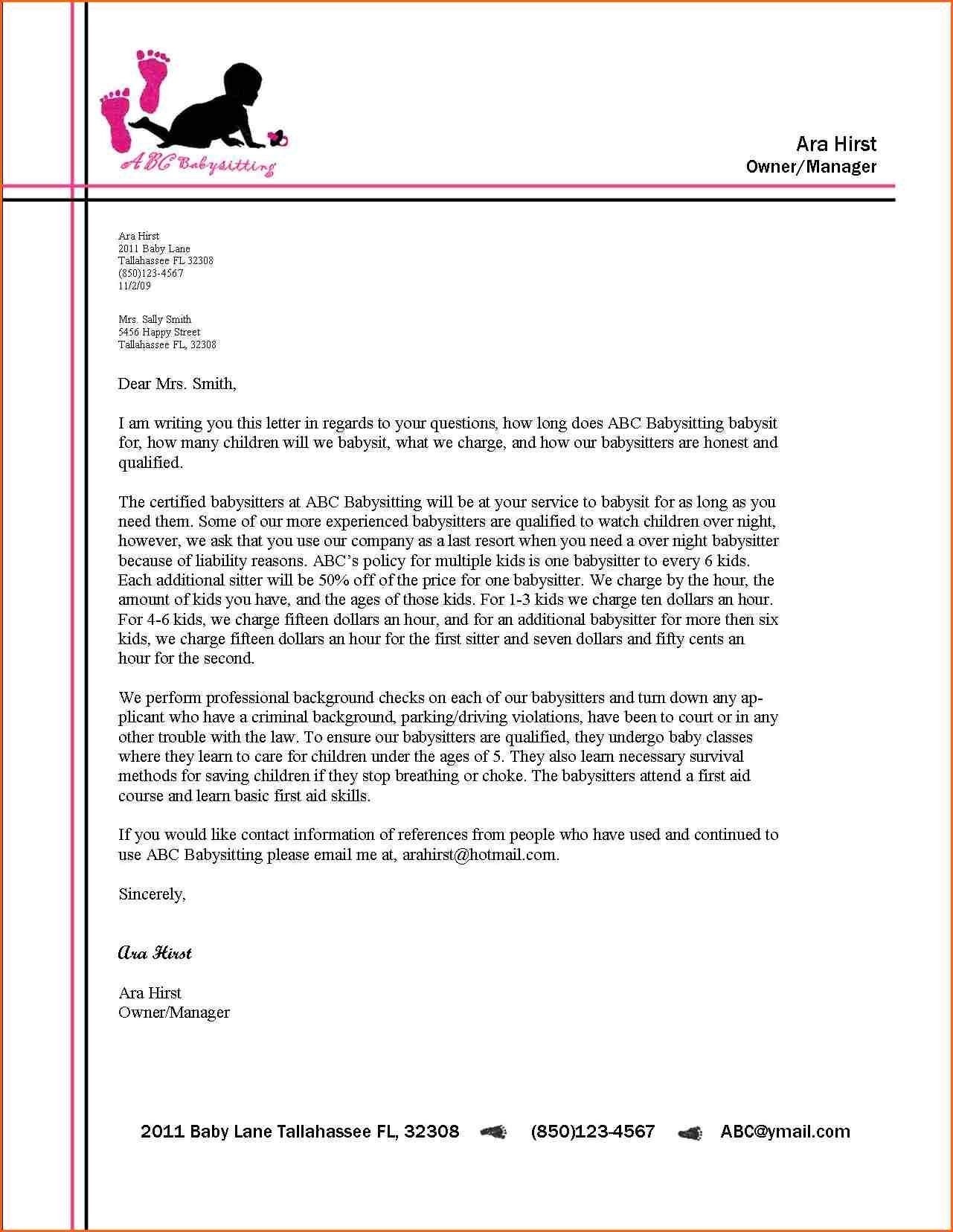 Business Letter Format Letterhead Example Alberta Education Links pertaining to Business Letter Format Without Letterhead 21791