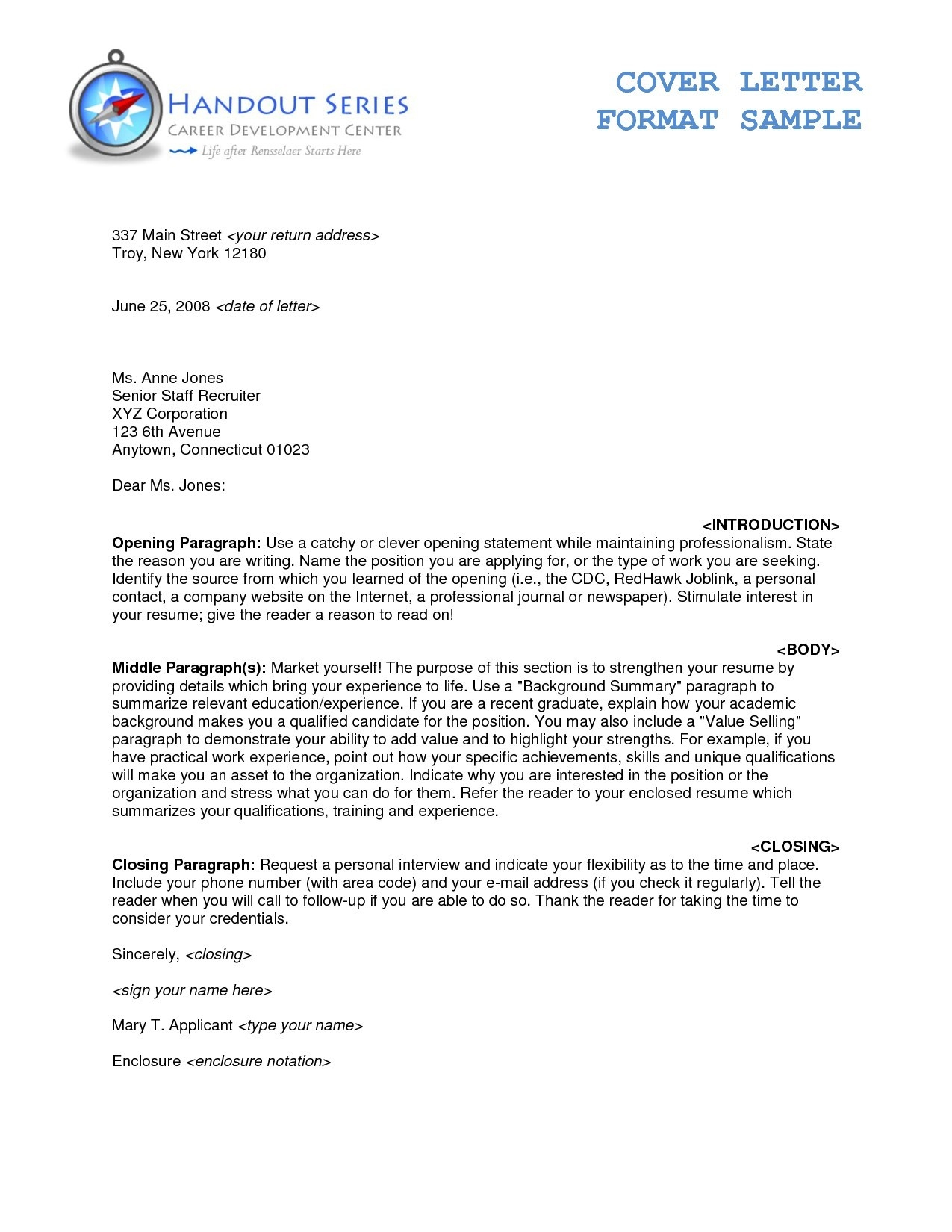 Business Letter Format To Cc Fresh Business Letter Format with regard to Formal Business Letter Format With Enclosure 22354