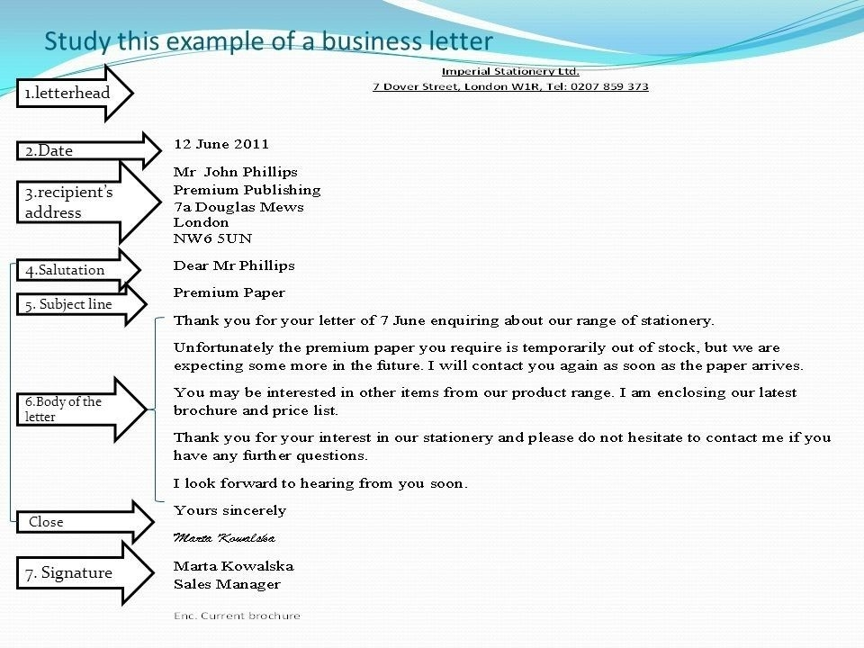 Business Letter Format With Subject Line | Theveliger intended for Business Letter Format With Subject Line 20138