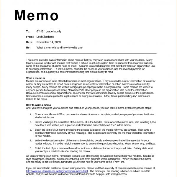 Business Memo Examples Inter Office Sample Wednesday May Template