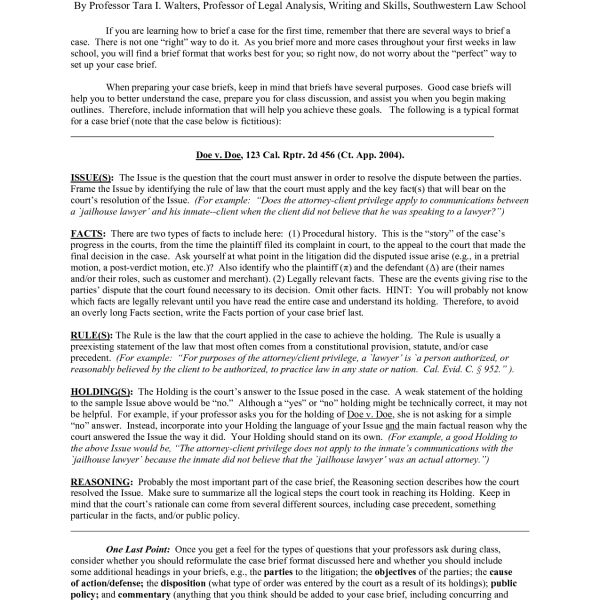 Case brief format asafonec in legal brief format examples case brief format asafonec in legal brief format thecheapjerseys Image collections