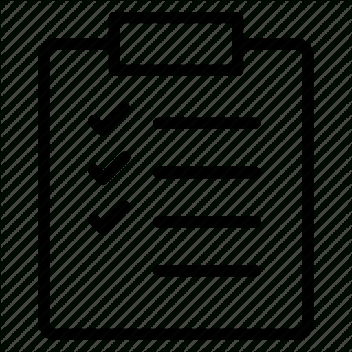 Check, Checklist, Clipboard, List, Report Icon   Icon Search Engine intended for Checklist Clipboard Png 24273