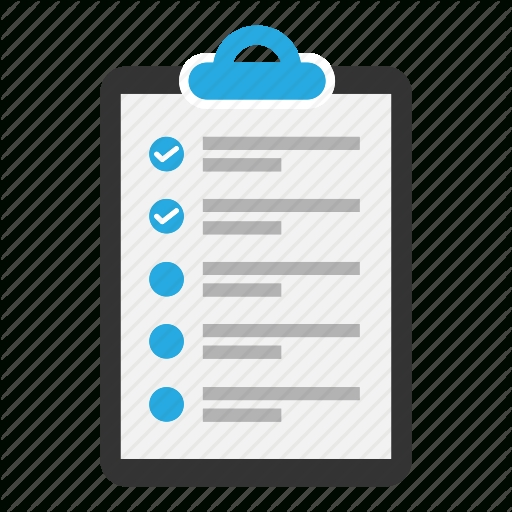Checklist, Clipboard, Content, Document, Task, Text, Tick Icon throughout Checklist Clipboard 20388