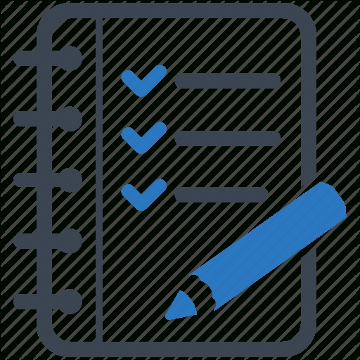 Checklist, Tasks, To Do List Icon | Icon Search Engine for Checklist Transparent 20378