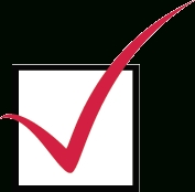 Checkmarkicon regarding Checklist Red Png 24262