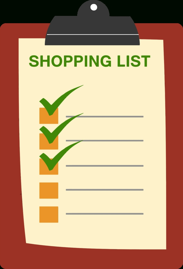 Cliparts Shopping List | Free Download Clip Art | Free Clip Art throughout Shopping List Clipart 20308