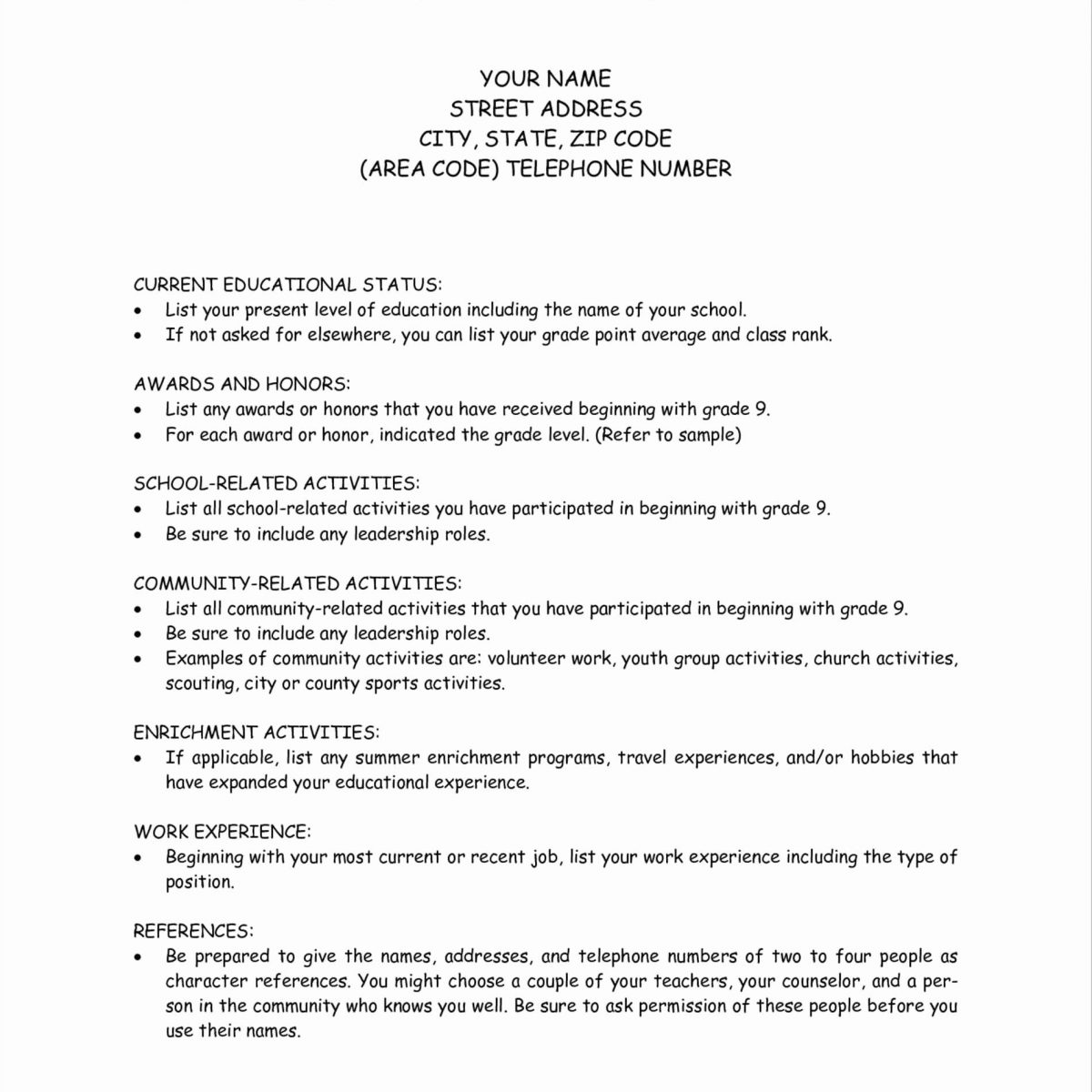 College Essay Format Template   World Of Example inside College Essay Format Template