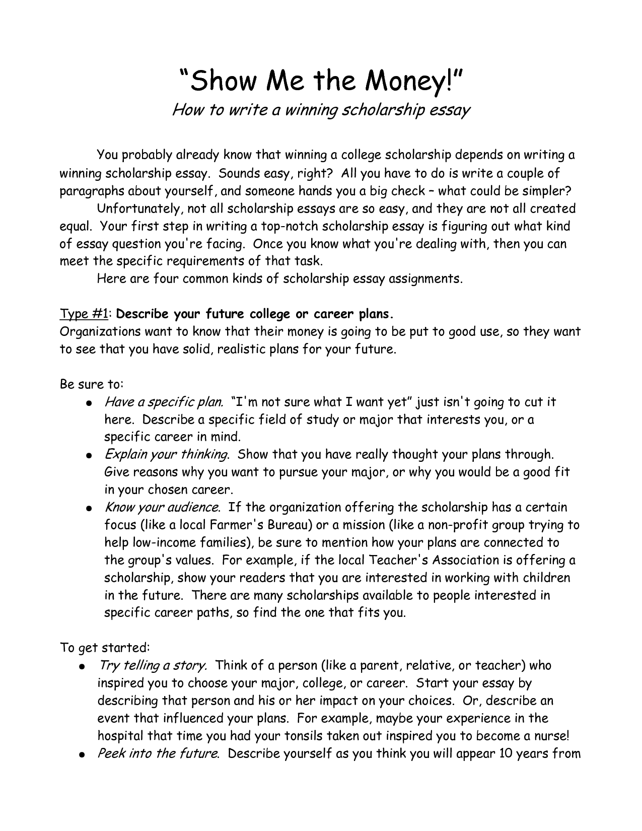 College Scholarship Essay Format | World Of Example throughout Scholarship Essay Format 19996