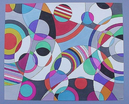 Color And Space: Sonia Delaunay | Collage, Create And Sonia Delaunay with regard to Shape In Famous Artwork