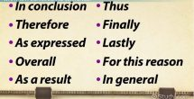 Conclusion Sentence Starters Examples