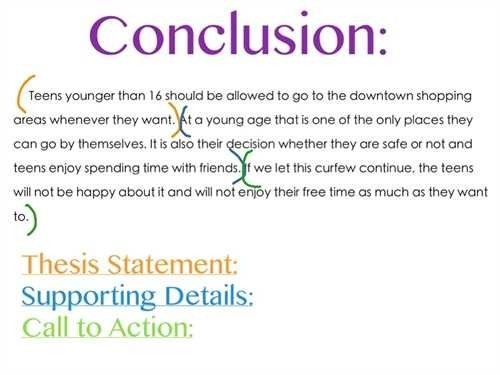 Conclusion Example For Essay - Yun56.co with regard to Conclusion Example For Assignment 18902