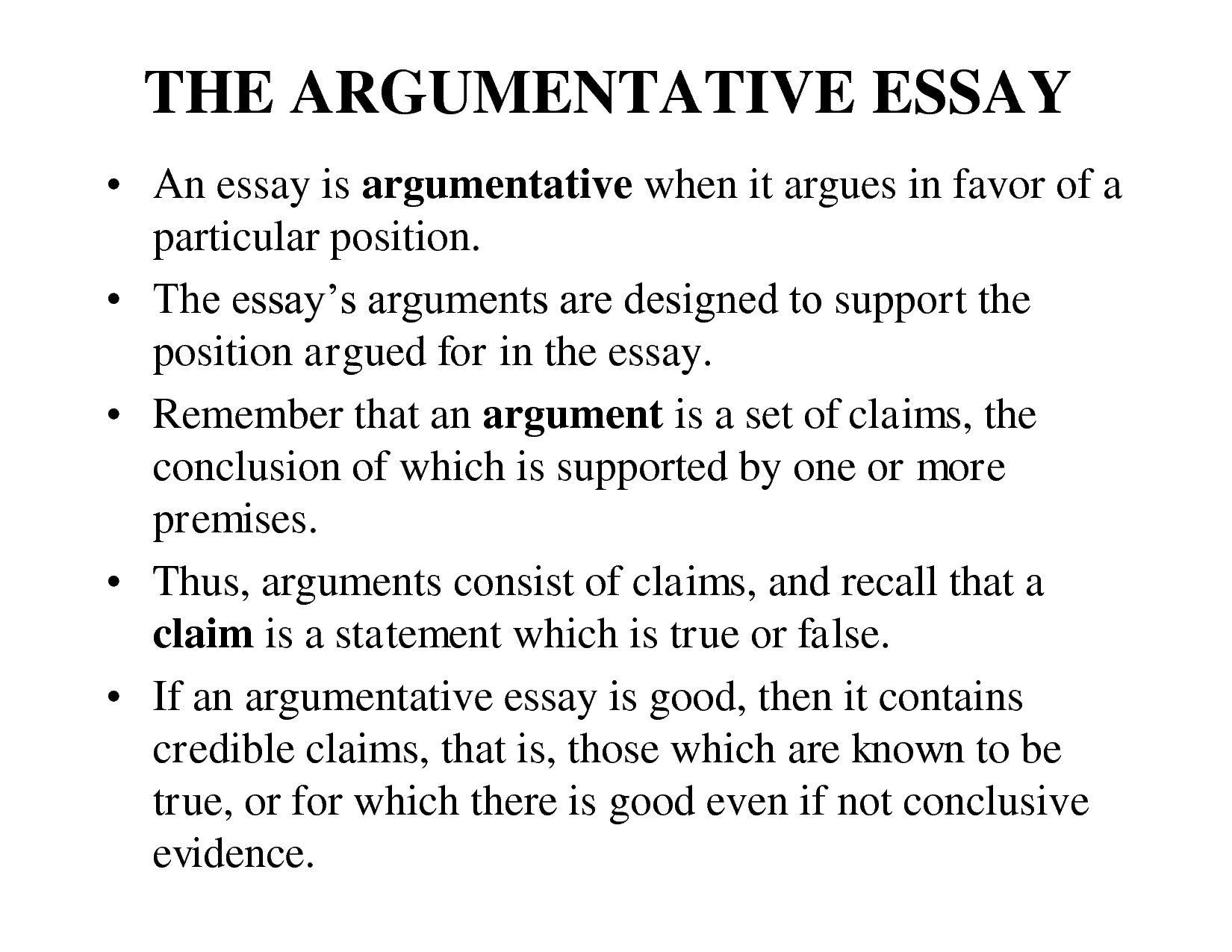Conclusion Examples For Argumentative Essay | World Of Example inside Conclusion Examples For Argumentative Essay 18941