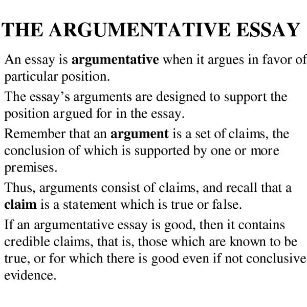 Conclusion Paragraph For Argumentative Essay  FieldstationCo
