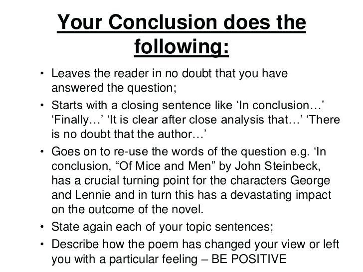 Conclusion Structure Example | World Of Example throughout Conclusion Structure Example 20730