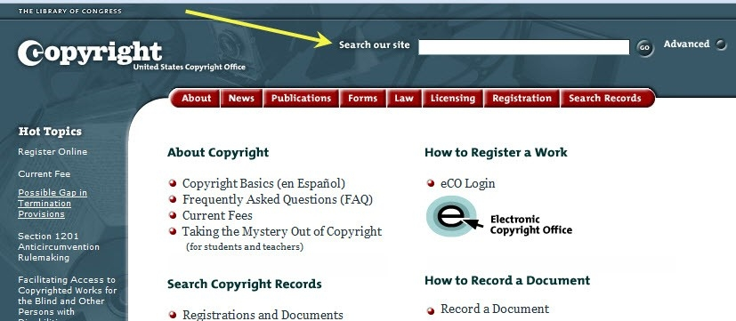 Copyright Example - Fieldstation.co inside Website Copyright Example 21401