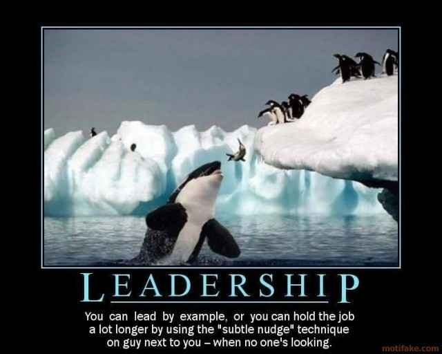 Creating Leadership In A Flat Organization · Formstack Blog regarding Lead By Example Poster 19714