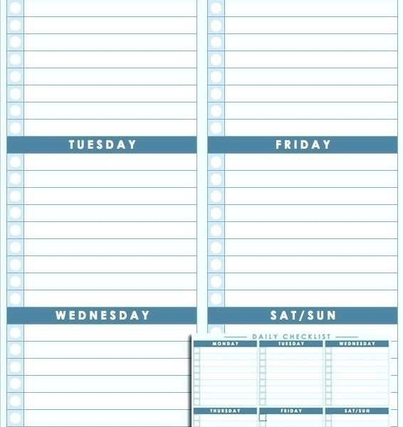Daily Schedule Sheet Daily Checklist Template Daily Routine For pertaining to Daily Routine Checklist Template 24162