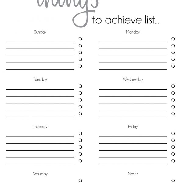 Daily To Do List Template Word | Examples And Forms regarding Daily ...